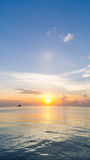 Sunrise from the Sea Royalty Free Stock Images