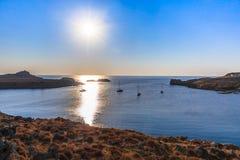 Sunrise on sea Royalty Free Stock Images