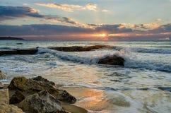 Sunrise & Sea royalty free stock images