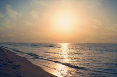 Sunrise on the sea Stock Photography