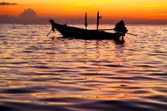 Sunrise   and sea in thailand   tao bay coastline  china sea Stock Images
