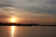 Sunrise. Seabreeze seaview thailand Stock Image