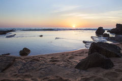 Sunrise Seascape Royalty Free Stock Photography