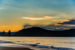 Sunrise Seascape. Taken at Umina Beach, Central Coast, NSW, Australia Royalty Free Stock Photos