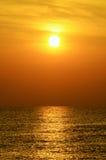 Sunrise at the seaside Royalty Free Stock Image