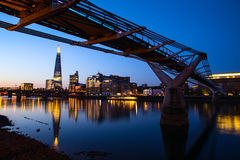 Sunrise at the Shard, London Royalty Free Stock Image