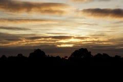 Sunrise in Shropshire Royalty Free Stock Photos