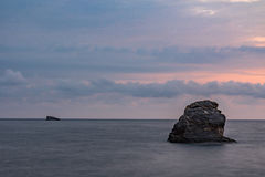 Sunrise in Skopelos Royalty Free Stock Image