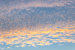 Sunrise sky as  background Royalty Free Stock Photos