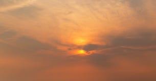 Sunrise sky Royalty Free Stock Photo