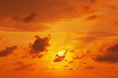 Sunrise sky Stock Photos