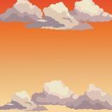 Sunrise sky sunset clouds Stock Photos