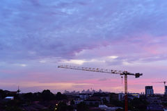 Sunrise sky in sydney Stock Photos