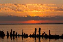 Sunrise sky Stock Photography