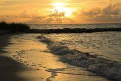 Sunrise at Smathers Beach Pass Stock Photo
