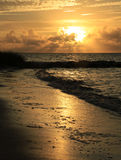 Sunrise at Smathers Beach Pass Royalty Free Stock Photo