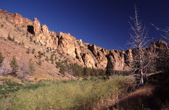 Sunrise at Smith Rock St. Park Royalty Free Stock Photo