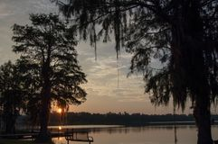 Sunrise in the South royalty free stock photography