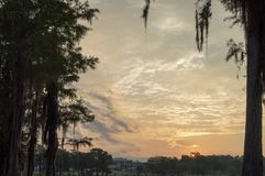 Sunrise in the South royalty free stock photos