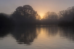Sunrise Southampton Common stock images
