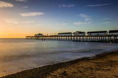 Sunrise at Southwold Stock Images