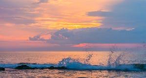 Sunrise Splash Royalty Free Stock Photos