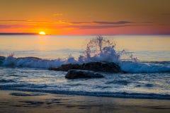 Sunrise Splash Royalty Free Stock Images