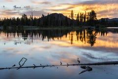 Sunrise on Sprague Lake