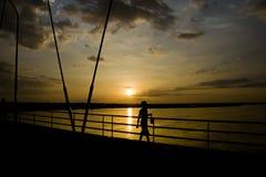 Sunrise Strole stock image