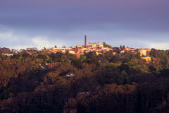 Sunrise from Sublime Point in Blue Mountains Australia Stock Image