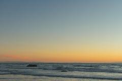 Sunrise Sumner beach Royalty Free Stock Image