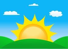 Sunrise sun Royalty Free Stock Images