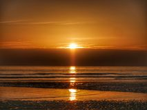 Sunrise in Sunderland stock photography