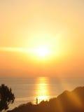 Sunrise, sunset Stock Photo