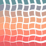 Sunrise/sunset abstract vintage colorful background smooth gradient curl geometric style Stock Image