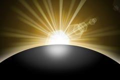 Sunrise Sunset Planet Royalty Free Stock Photos