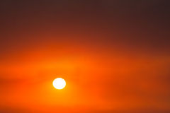 Sunrise, Sunset, Red Colors, Background Royalty Free Stock Photo