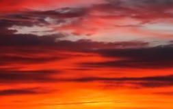 Sunrise, sunset sky background Royalty Free Stock Photography