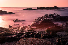 Sunrise on the Sunshine Coast,Spain III Stock Photography