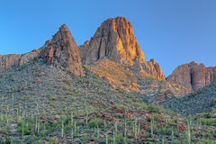 Sunrise Superstition Mountains Stock Photos