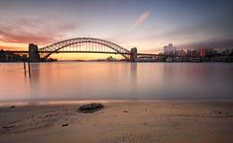 Sunrise Sydney cityscape Australia Stock Images