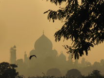 Sunrise in Taj Mahal Royalty Free Stock Photography