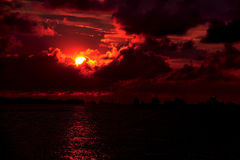 Sunrise at East Coast Royalty Free Stock Images