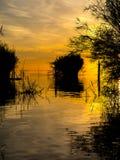 Sunrise at Talay Noi Royalty Free Stock Image
