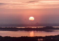 Sunrise in Tampa Stock Image