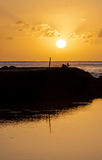 Sunrise. At Terceira Island, Azores Royalty Free Stock Photography