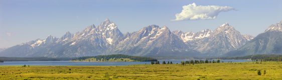 Sunrise in the Tetons Royalty Free Stock Photo