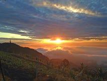 Sunrise. In Thailand Royalty Free Stock Photo