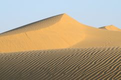 Sunrise in Thar desert,Rajasthan,India,South Asia Royalty Free Stock Image