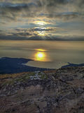 Sunrise on Thassos Island, Greece Stock Photography